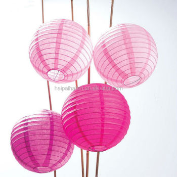 Hot Sale Multicolor Pink Chinese Paper Lanterns Wholesale Wedding ...