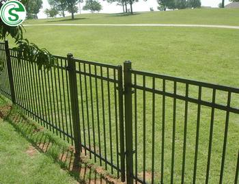Commercial Perimeter Used Galvanized Steel Prefab Fence