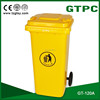 Extra strength 120L EN840 plastic trash can
