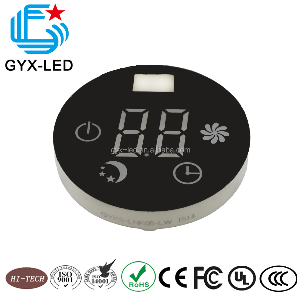 Common Anode Blue home appliance round led display