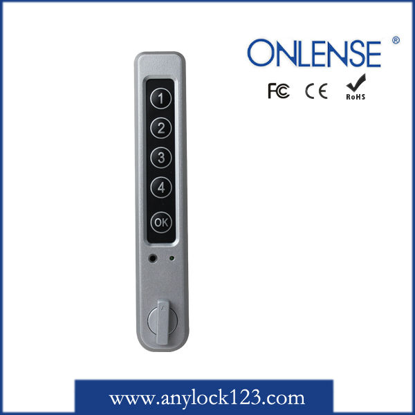 Electronic Keypad Metal Cabinet Sliding Door Lock For Security ...