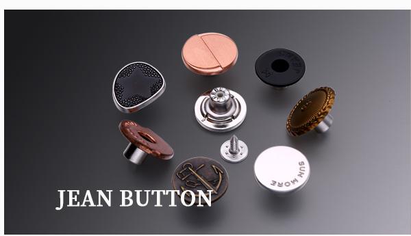 Cappotto Rotondo 4 Fori//Pulsante di abbigliamento-BLU 18mm//28L