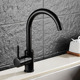 Drinking Water Brass Faucet for RO Reverse Osmosis & Filter with Matte Black Finish