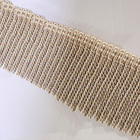 Factory Supplier High Quality Decorative Beaded Bullion Fringe Trimming Tassels