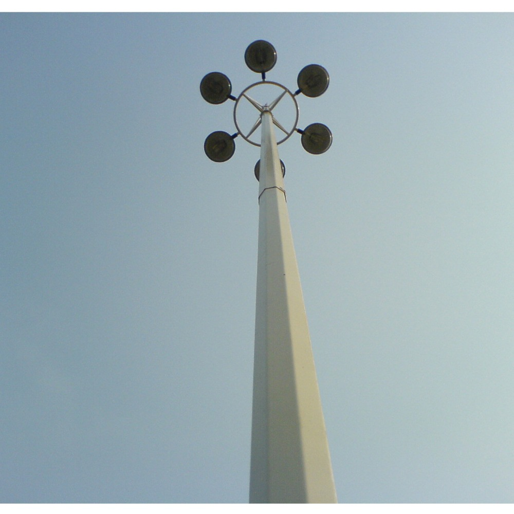 Q235 Steel 20 meter high mast lighting price in Wenzhou factory