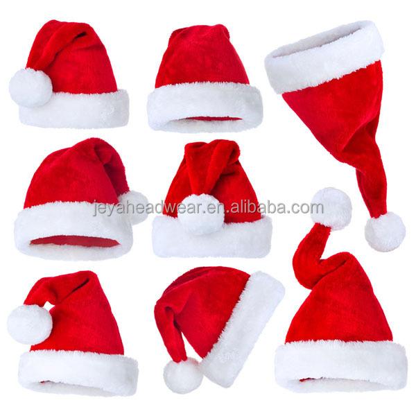 f88b156b0ee26 Warmed Winter Santa Christmas Hat White Luxury Christmas Plush Santa Hat  Baby Santa Hats And Caps - Buy Infant Santa Hats
