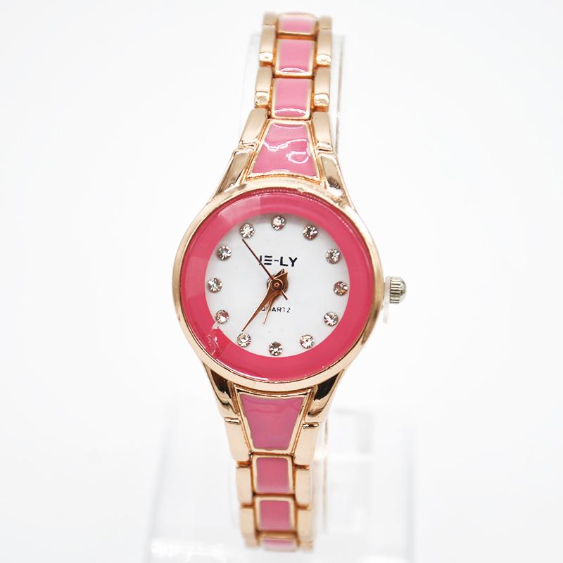 Горячая мода элегантных женщин браслет часов горный хрусталь браслет наручные часы часы Relogio Feminino лучший подарок 3 цветов MPJ829 * 60