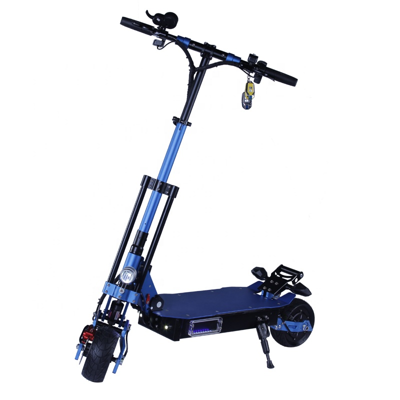 8 inch Fat Tire oil brake Max Speed 55KM/H 48v 2000w electric scooter With Turning Lights