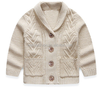 0c5eccd9d toddler sweater heavy thick 100% pure cotton baby boys cardigan sweater