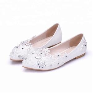 cheap for discount 24c96 d1212 Speacial-Hand-stitching-white-bridal-shoes-flat.jpg 300x300.jpg