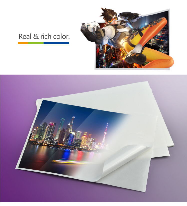 Papel Adhesivo Unfaded Memjet Label Glossy PP Plastic Film