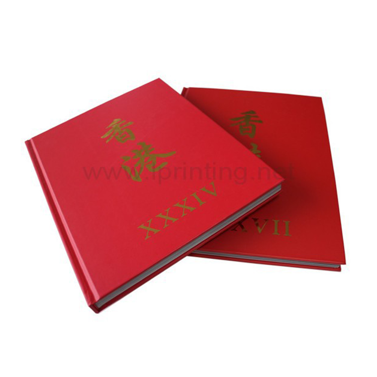China Famous Book Publishers Printing Hot Stamping Coloring Wine Product Catalogue
