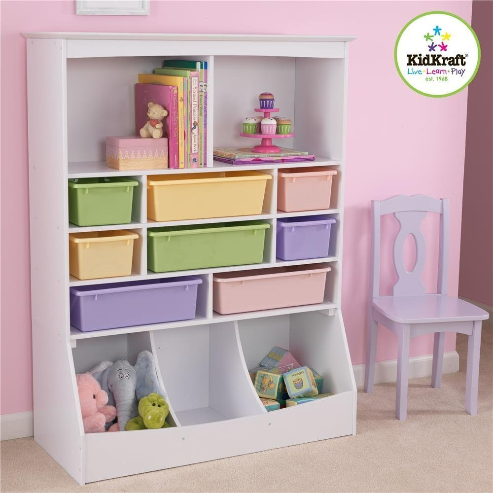 Get Quotations Kidkraft Wall Storage Unit White