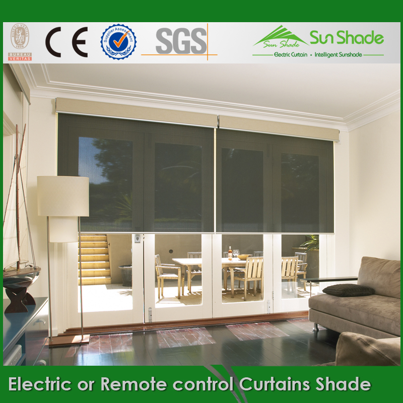 Marvelous Diy Electric Or Remote Control Roller Curtains Shade With The Tubular Motor  Or Lithium Battery   Buy Electric Or Remote Control Roller Curtains Shade  ...