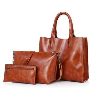 2415bcc78355 wholesale custom logo stylish Fashion lady leather handbag with low MOQ  from stock bag