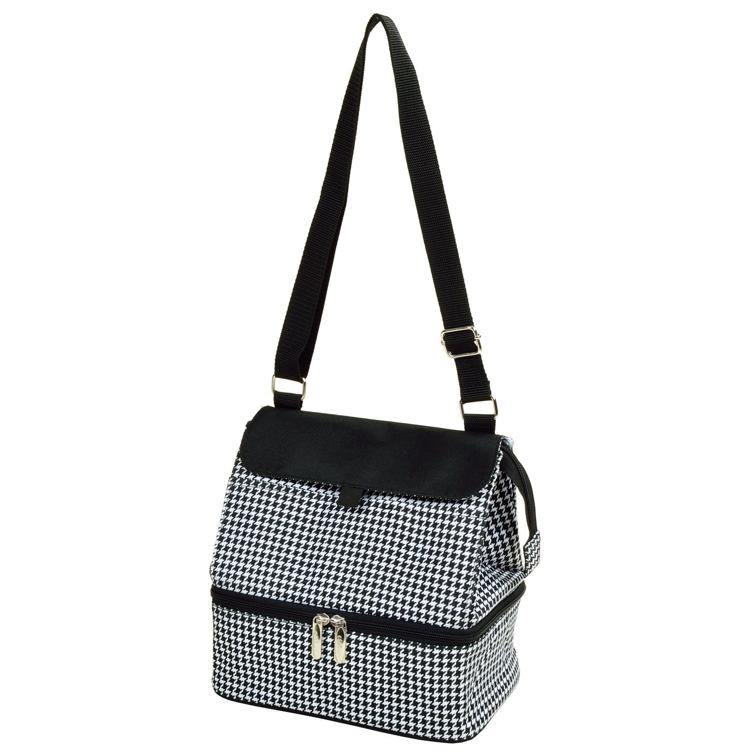 3c597dc587 Get Quotations · Picnic at Ascot Fashion Insulated Lunch Bag - Houndstooth