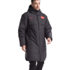Sport mens wearing top sale padded jacket with logo