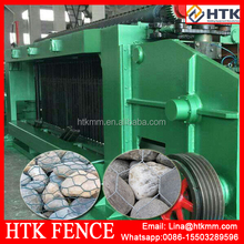 used widly in market sade machinery gabion mesh machine production line/gabion mesh machine