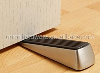 Zamak Safety Anti Skid Wedge Door Stopper,door Wedge,rubber Door Wedge Door
