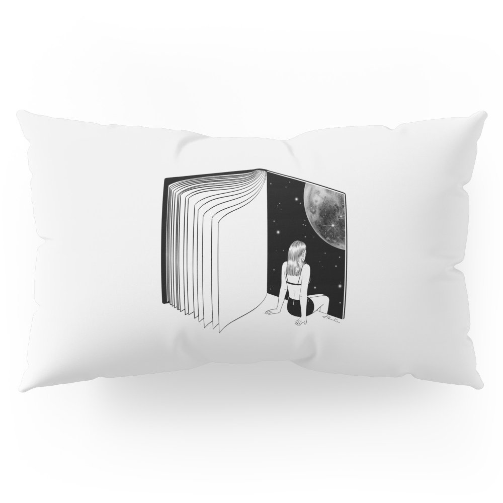 """Society6 Reading Is Dreaming With Your Eyes Open Pillow Sham King (20"""" x 36"""") Set of 2"""