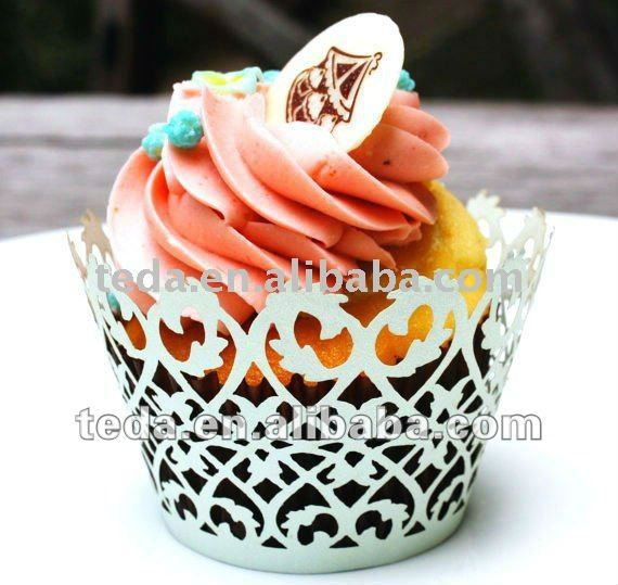 Cake Decoration Cupcake Wrappers Weddings and Baby Showers
