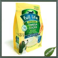 Vivid printing standup Plastic Dog Food Snack Packaging Bag vacuum plastic bags for pet food