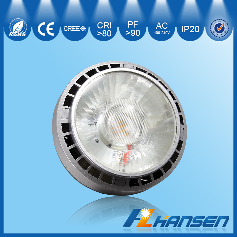 Halogen light retrofit fission dimmable driver 35w led spotlight Guangzhou Hansen lighting