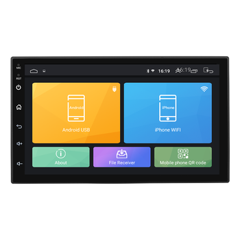 7inch Touch Screen Android 2 Din Car DVD Radio Multimedia Player GPS Navigation Universal for Nissan Peugeot Toyota Autoradio