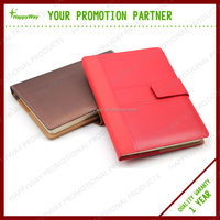 Promotional Colorful Hardcovr Paper Notebook, MOQ 100 PCS 0701063 One Year Quality Warranty
