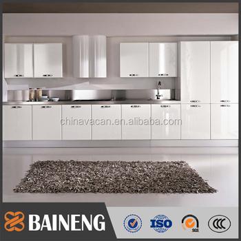 Modular Kitchen Cabinet High Gloss Lacquer Finish 18mm Mdf Kitchen Cabinet