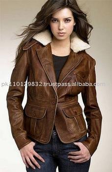 Leather Jacketsladies Fashion Jacketjacketfashion Jacketsfur