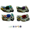 cute cartoon mini motorcycle model resin