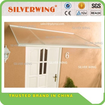Modern Aluminum Rain Awning Supports Door Canopy For Window Or Patio Ute  Canopy