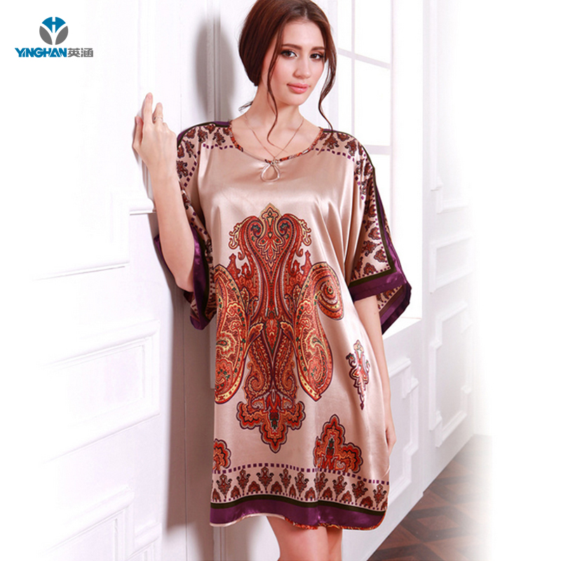 05e24f36e9 Direct Deal Indian Nighty For Ladies Sexywoman Flowery Sleepwear - Buy  Nighty For Ladies