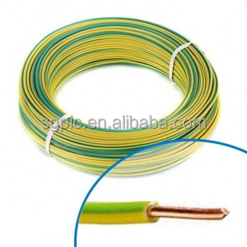 low voltage 450/750V 1 core PVC insulated copper electric wire