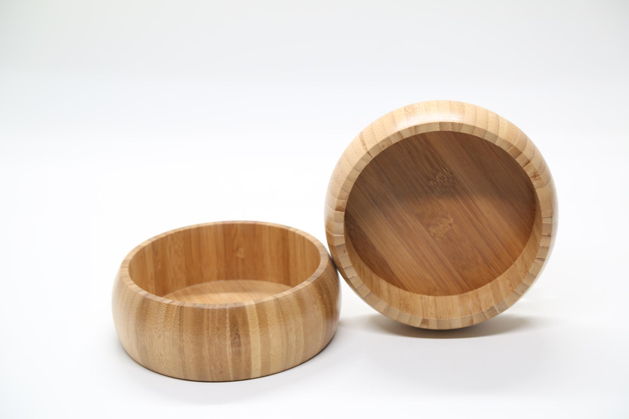 customized design bamboo fiber salad bowl 3