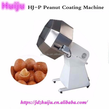 multifunction Small chocolate peanut coating machine/potato chips seasoning drum/nut flavoring machine