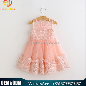 2016 New Arrival Girls Cotton Frock Design Baby Clothing Princess ...