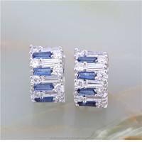 Promotion 18k gold plated women jewelry making supplies earrings