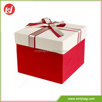 Eco-friendly gift holiday colorful printed paper packing box wholesale