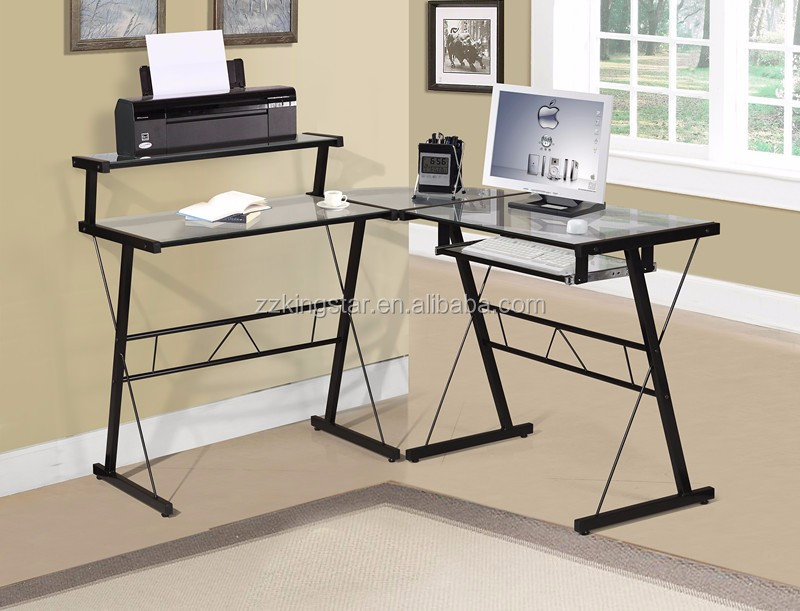 long office tables. home office study workstation long glass corner computer desk tables f