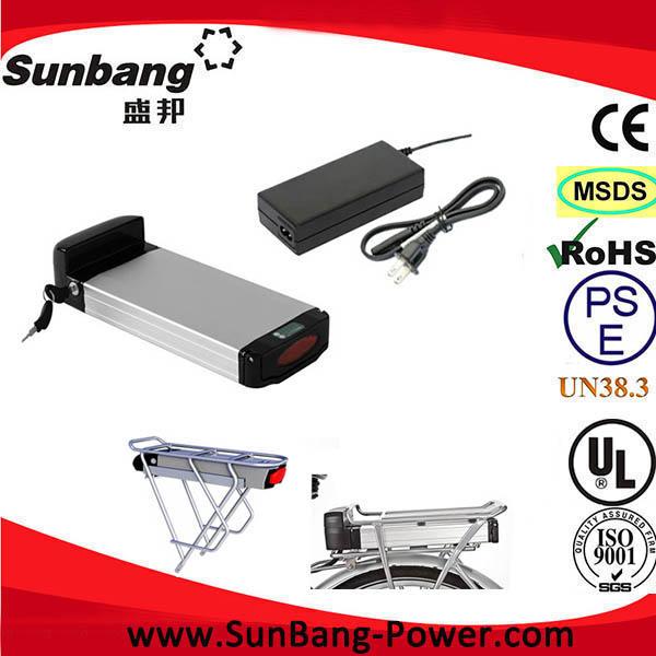 48V 10Ah ni-mh battery electric bike with electric bike battery connector