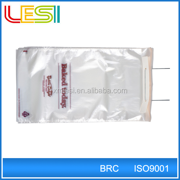 New style small bopp micro perforated bag with wicket for bread food packaging