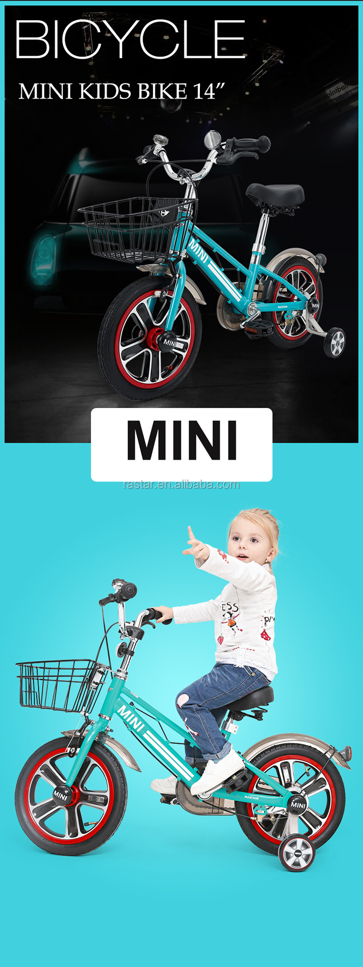 RASTAR sale child bicycle MINI cycle exercise kids bike