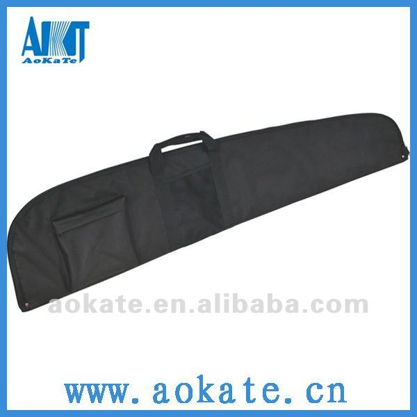 600D Black long waterproof bag guns for hunting