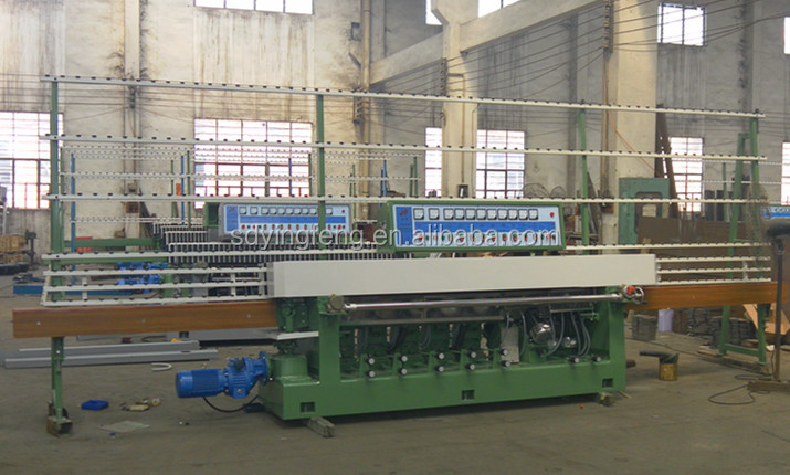 JFE-9243 9 Motor Building Glass Straight Line Edge Polishing Machine High Quality with CE