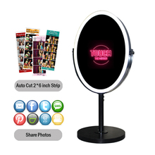 Digitale Oval Photo Booth <span class=keywords><strong>Automaten</strong></span> mit Kamera und Drucker