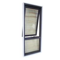 Australia AS2047 AS2208 AS1288 standard double glazed awning window latest home window design with timber reveal