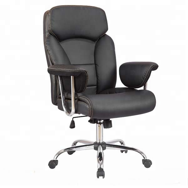 M&C quality choice western europe synthetic no folded swivel boss office Chairs