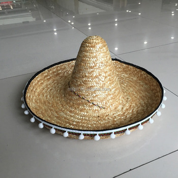 f84b9c22 Mh-0010 Party Oversized Mexican Sombrero Wide Brim Straw Hat - Buy ...